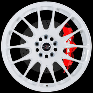 Reeve 18x9.5 5x100 ET38 White