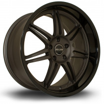 Dyna 19x10 5x114 ET20 Flat Gunmetal with Gloss Black Lip