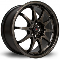Fight 17x8 5x100 ET48 Gunmetal
