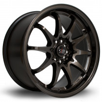 Fight 17x9 5x100 ET50 Gunmetal