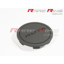 Rota Centre Cap - Flat Top - Flat Black