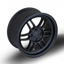 TFS301 15x7 4x100 ET38 Flat Black