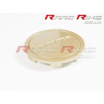 Rota Centre Cap - Flat Top - Gold
