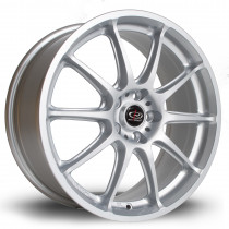 Gra 17x7.5 5x100 ET48 Silver