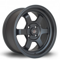 Grid-V 15x7 4x100 ET20 Flat Black