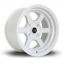 Grid-V 15x8 4x114 ET0 White