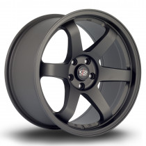 Grid 18x9.5 5x108 ET35 Flat Black 2