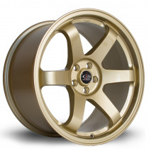 Grid 18x9.5 5x100 ET38 Gold