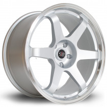 Grid 19x9.5 5x114 ET20 Silver with Polished Lip