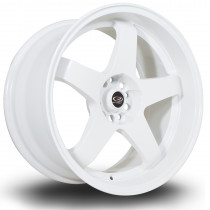 GTR-D 18x9.5 5x114 ET12 White