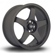 GTR 17x7.5 4x108 ET45 Flat Black 2