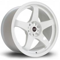 GTR 17x9.5 5x114 ET12 White