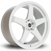 GTR 19x9 5x108 ET42 White