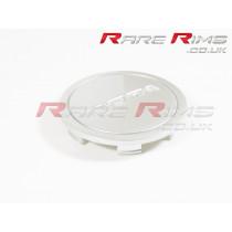Rota Centre Cap - Flat Top - Hyper Silver