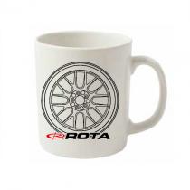 Rota Wheels White Mug