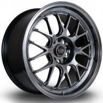 MXR 18x8.5 5x100 ET38 Hyper Black