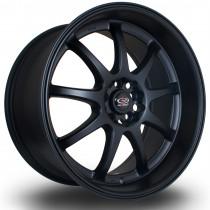 P1R 18x9.5 5x100 ET38 Flat Black