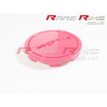Rota Centre Cap - Flat Top - Pink