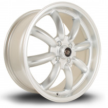 RB 17x7.5 4x100 ET45 Silver