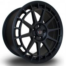 Recce 17x8 4x100 ET35 Flat Black