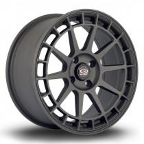 Recce 17x8 4x100 ET35 Flat Black 2
