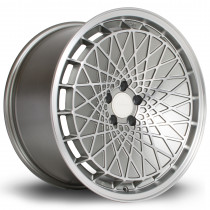 RM100 18x9.5 5x100 ET23 Steelgrey with Matte Polished Face