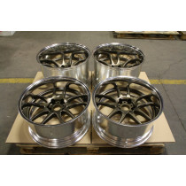 "Genuine Work CR-2P 19"" Alloys Staggered 19x10 ET-20 