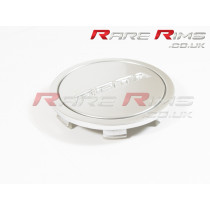 Rota Centre Cap - Flat Top - Silver