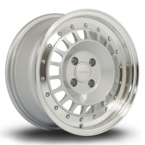 Speciale 15x7 4x100 ET35 Silver with Polished Lip