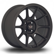 Strike 15x8 4x100 ET20 Flat Black 2