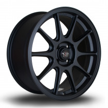 Strike 17x7.5 4x108 ET40 Flat Black