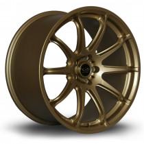 T2R 18x9.5 5x100 ET38 Gold