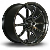 T2R 18x9.5 5x114 ET25 Hyper Black