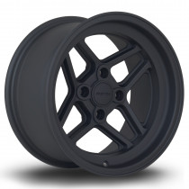 TBT 15x8 4x108 ET0 Flat Black 2