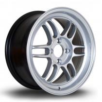 TFS301 15x7 4x100 ET38 Hyper Silver