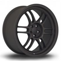 TFS301 18x8.5 5x100 ET44 Flat Black 2