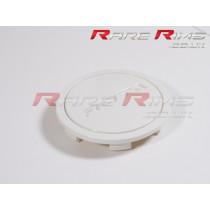 Rota Centre Cap - Flat Top - White