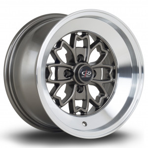 Aleica 15x8 4x114 ET0 Bronze with Polished Lip