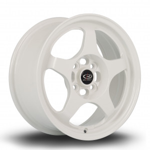 FF10 15x6.5 4x100 ET35 White