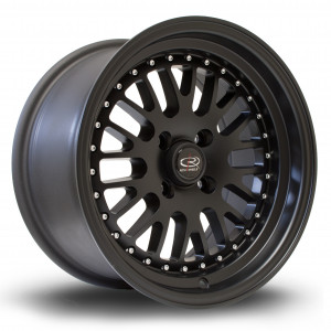 Flush 15x8 4x100 ET20 Flat Black