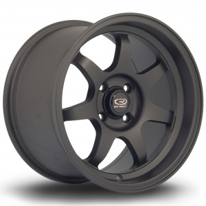K7 15x9 4x100 ET36 Flat Black 2