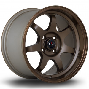 K7 15x9 4x100 ET36 Speed Bronze