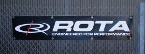 Rota Wheels Banner