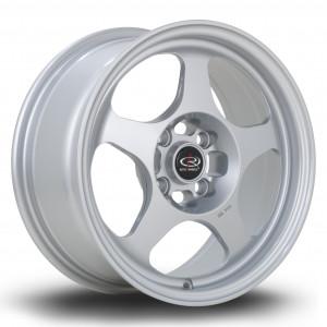 Slip 15x7 4x100 ET28 Silver