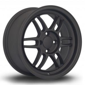 TFS301 15x7 4x100 ET38 Flat Black 2