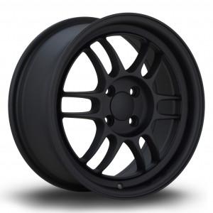 TFS301 16x7 4x100 ET40 Flat Black 2